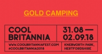 Click here to book your accommodation for Cool Britannia 2018 - Gold Camping