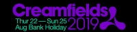 Click here to book your accommodation for Creamfield 2019