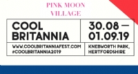 Click here to book your accommodation for Cool Britannia 2019 - Pink Moon